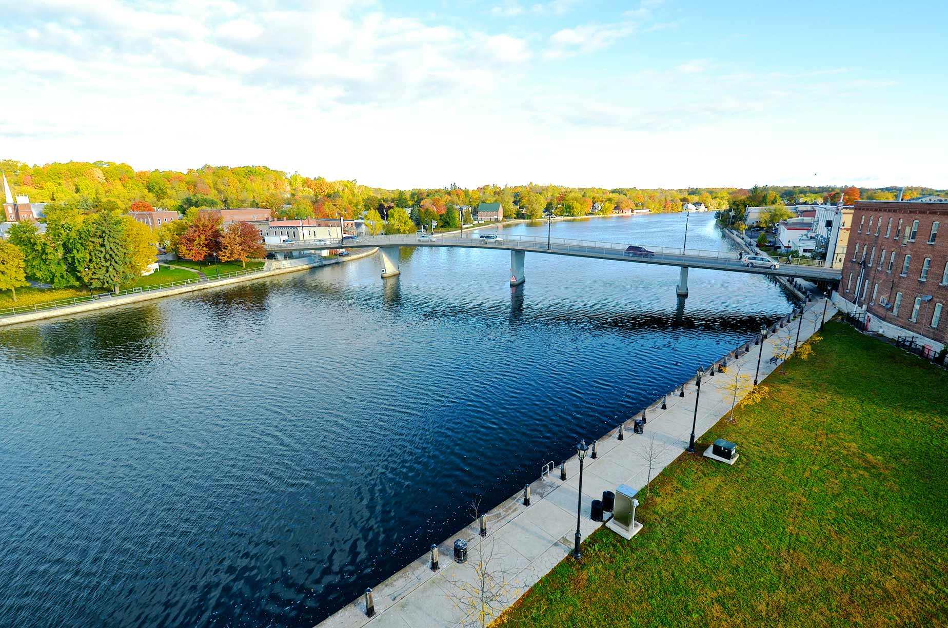 Trent River in Campbellford