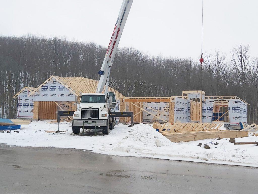 Phase 1 Woodlots Under Construction