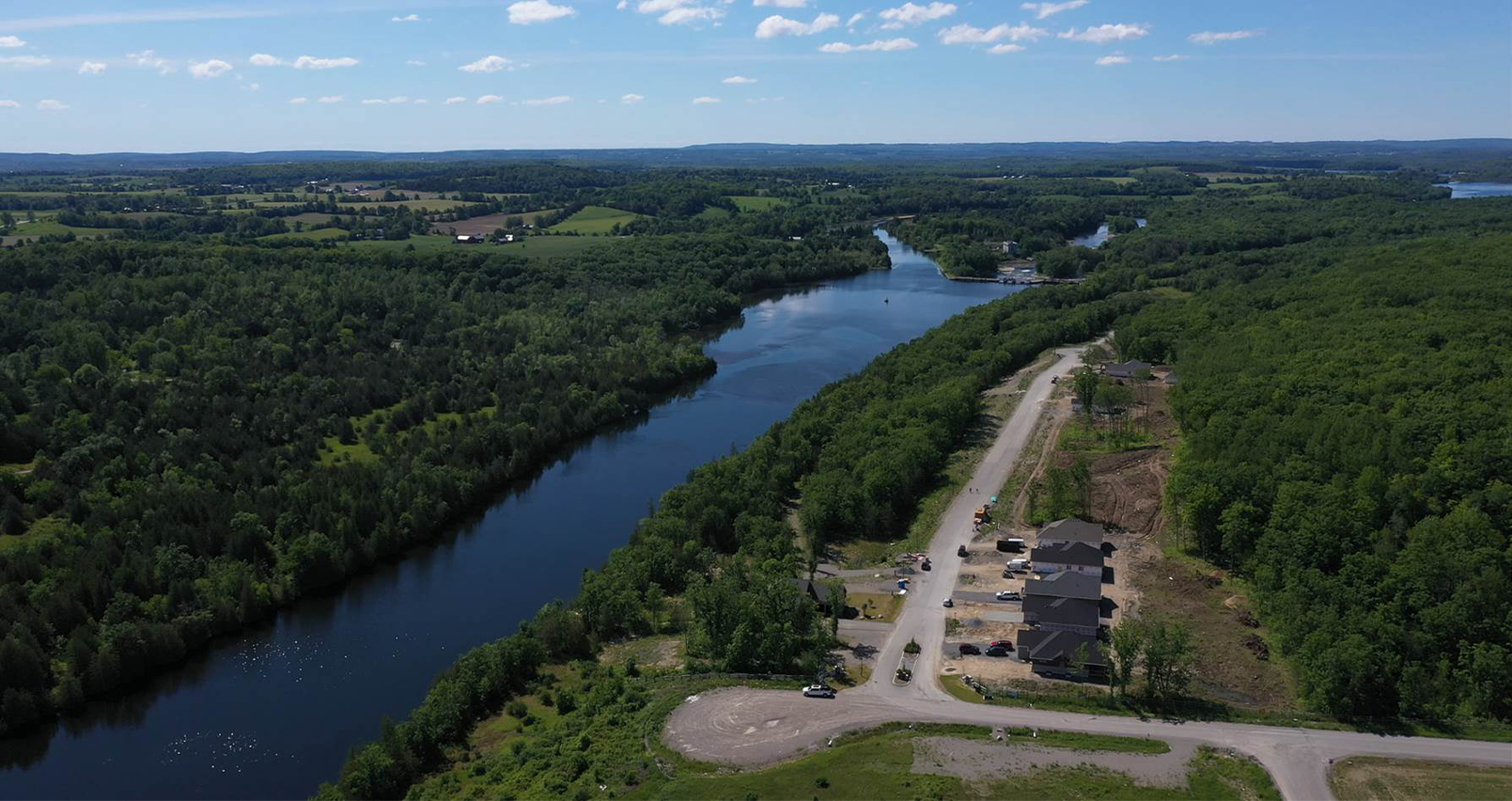 Haven on the Trent, River lots, wooded lots, new homes campbellford